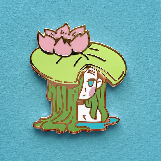 Image of Lilly Enamel Pin