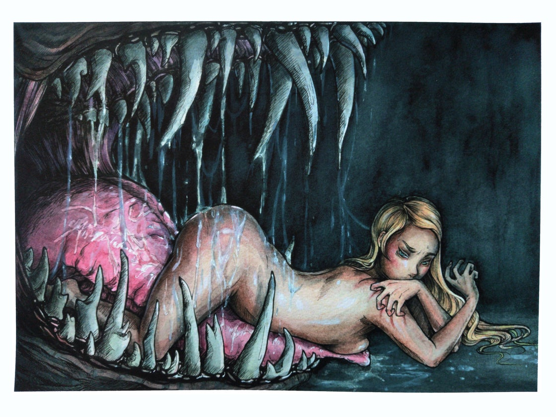 """Image of """"A Young Woman's Dream"""" Giclee Print"""