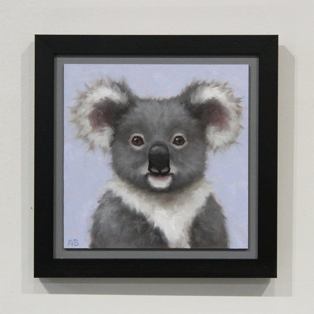 "Image of Koala ""ART FOR GOOD"" Original Oil Painting"