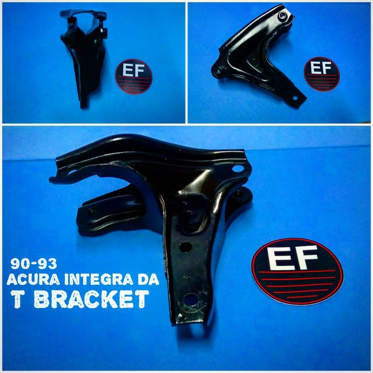 Image of OEM ACURA Rear Mounting T Bracket 90-93 Integra 88-91 Civic / CRX T Mount Engine