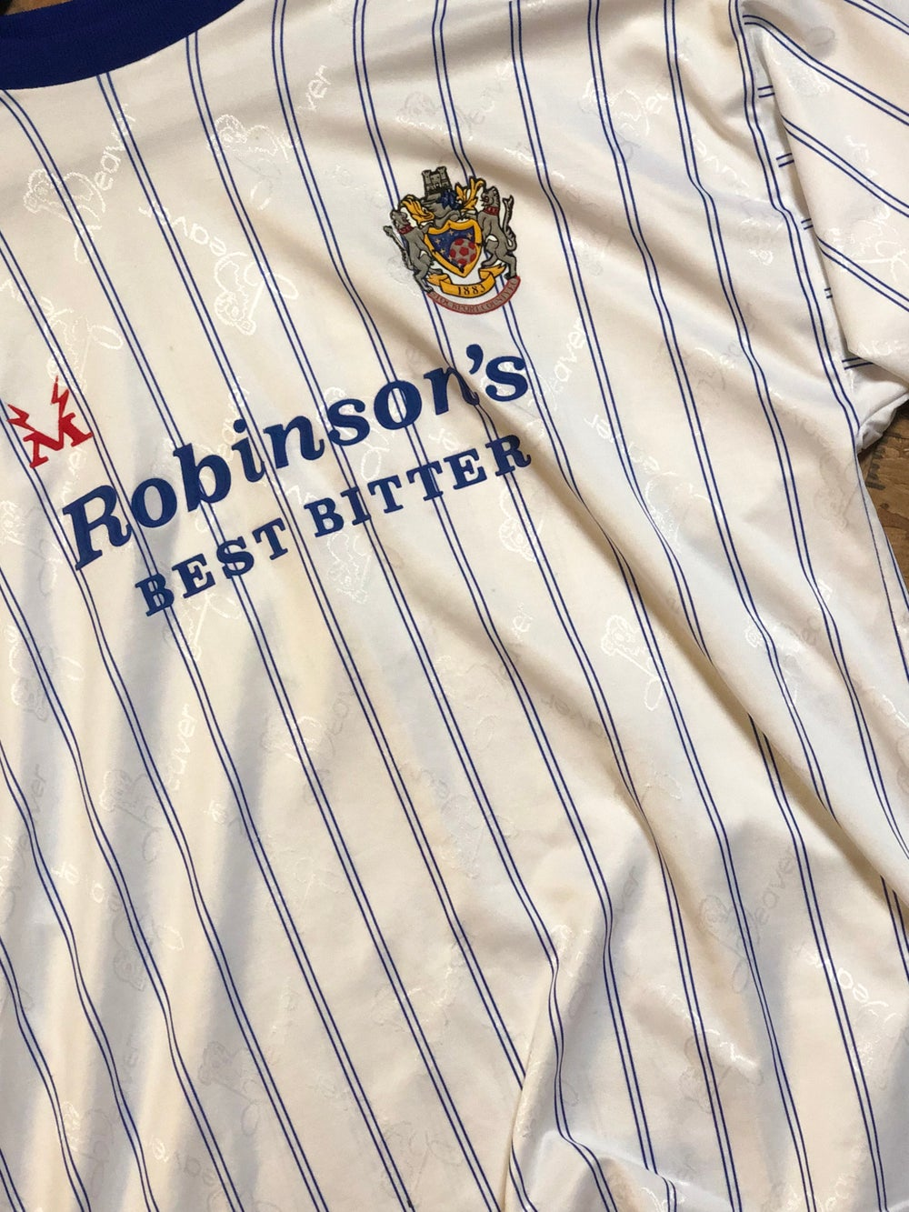 Image of Replica 1995/96 Beaver home shirt
