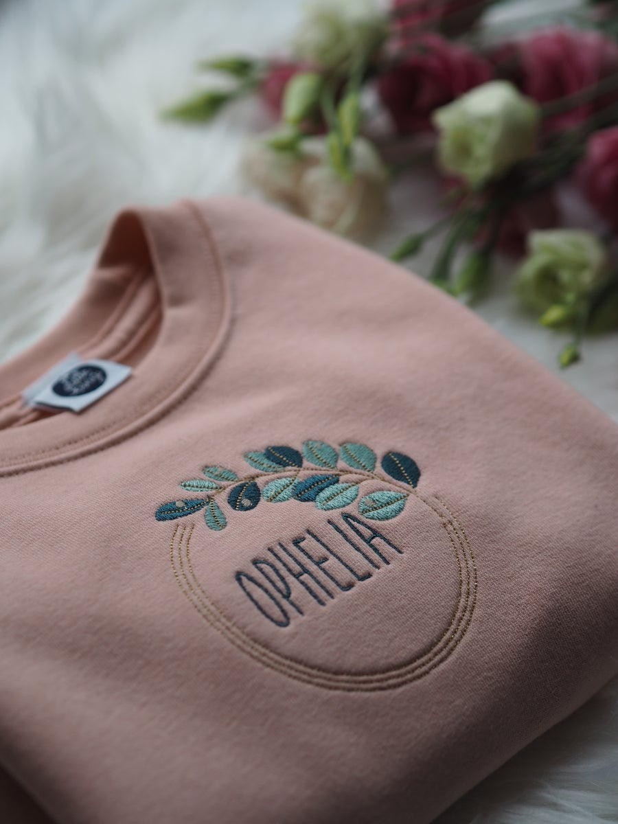 Image of Autumn Dew - dusty pink sweatshirt
