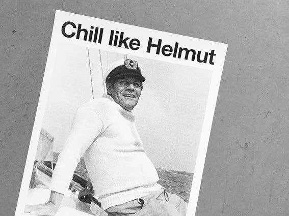 Image of RISOPRINT Chill like Helmut