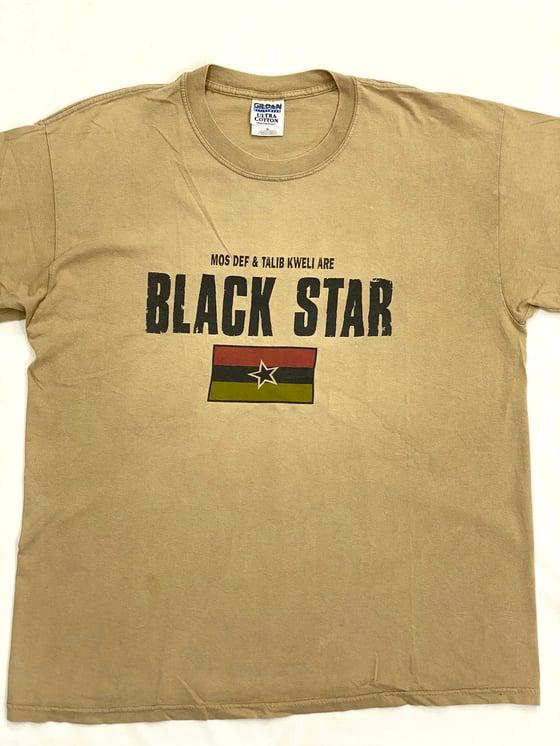 Image of TEE SHIRT BLACK STAR (MOS DEF & TALIB KWELI ARE)