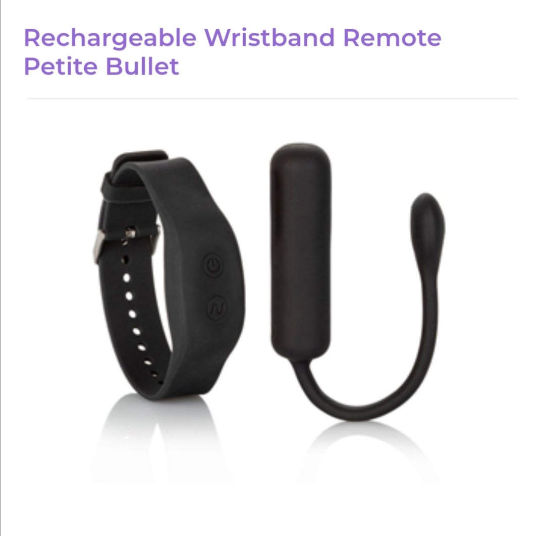 Image of Rechargeable Wristband Remote Petite Bullet