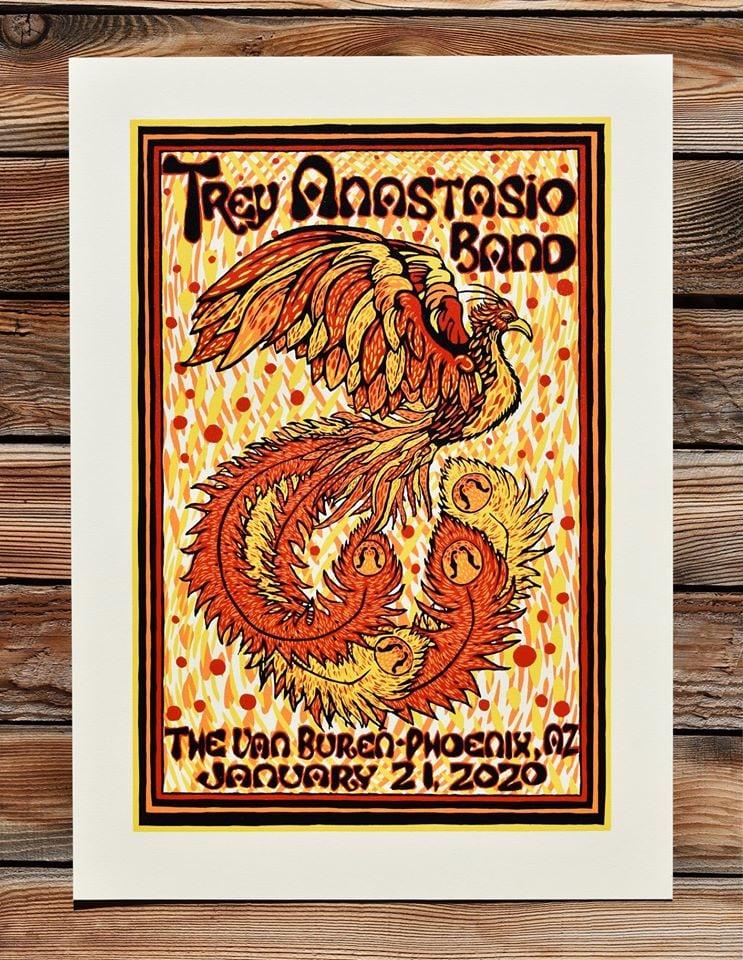 Image of Trey Anastasio Band - Phoenix, Az - Stonehenge Natural