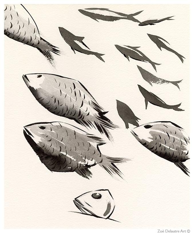 Image of Deep Sea Fish Memento Mori