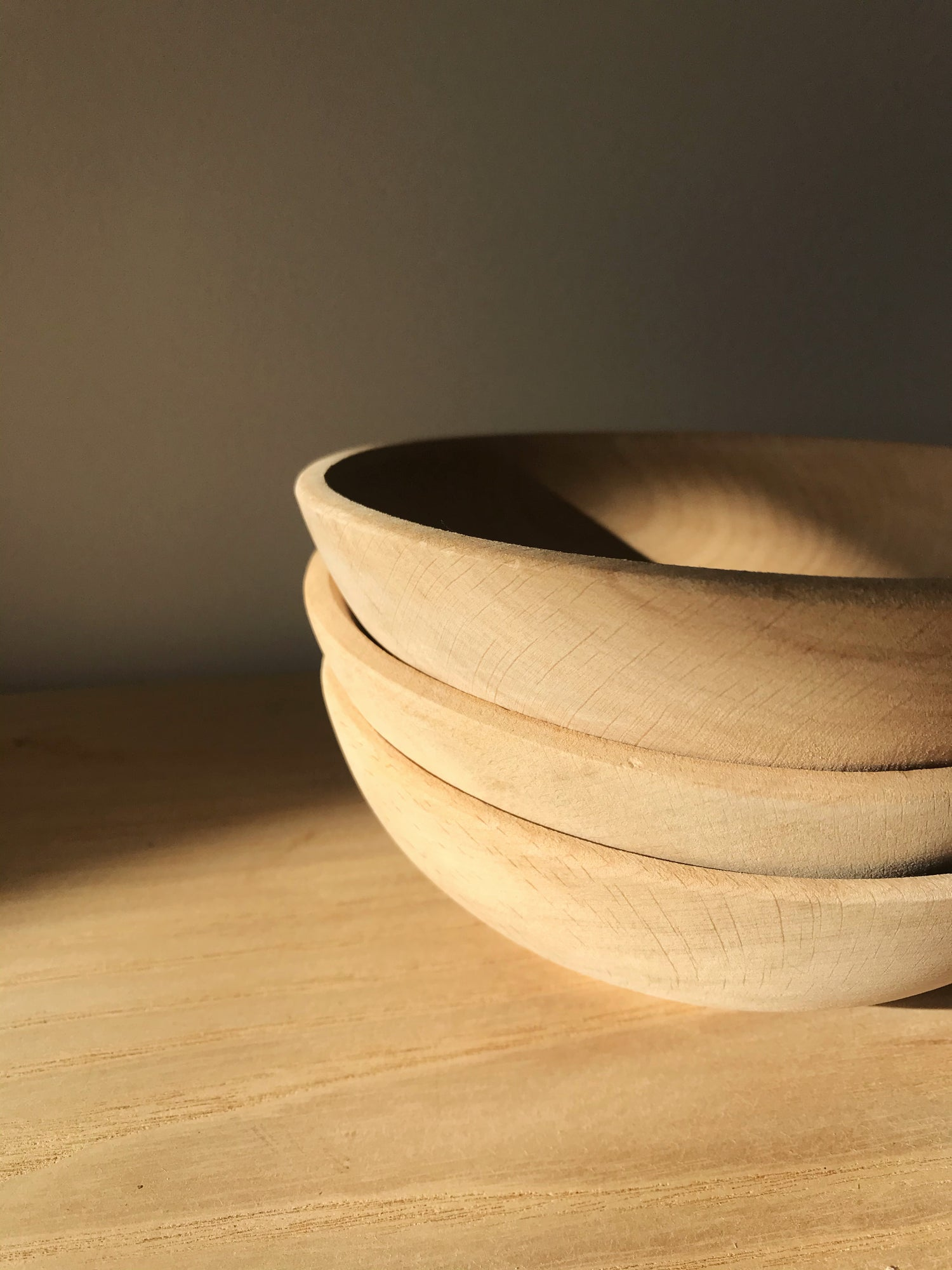 Image of Small Raw Wood Bowl #120