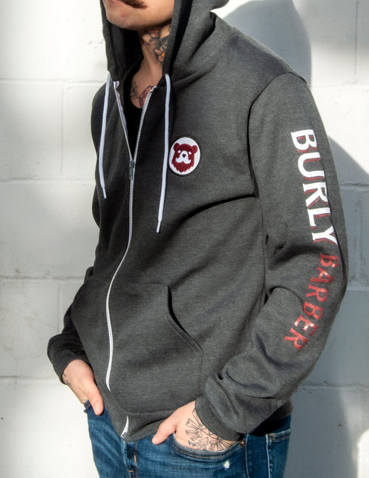 Burly Hoodie - Grey (Limited Edition)