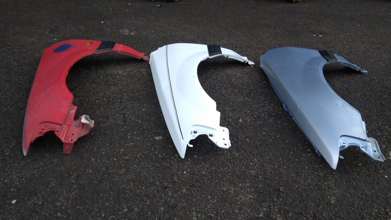 Image of Honda civic wagon Fenders 88-91
