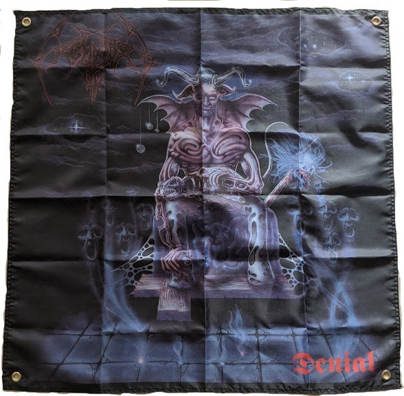 "Image of Crematory  "" Denial  ""  - Banner / Tapestry / Flag"