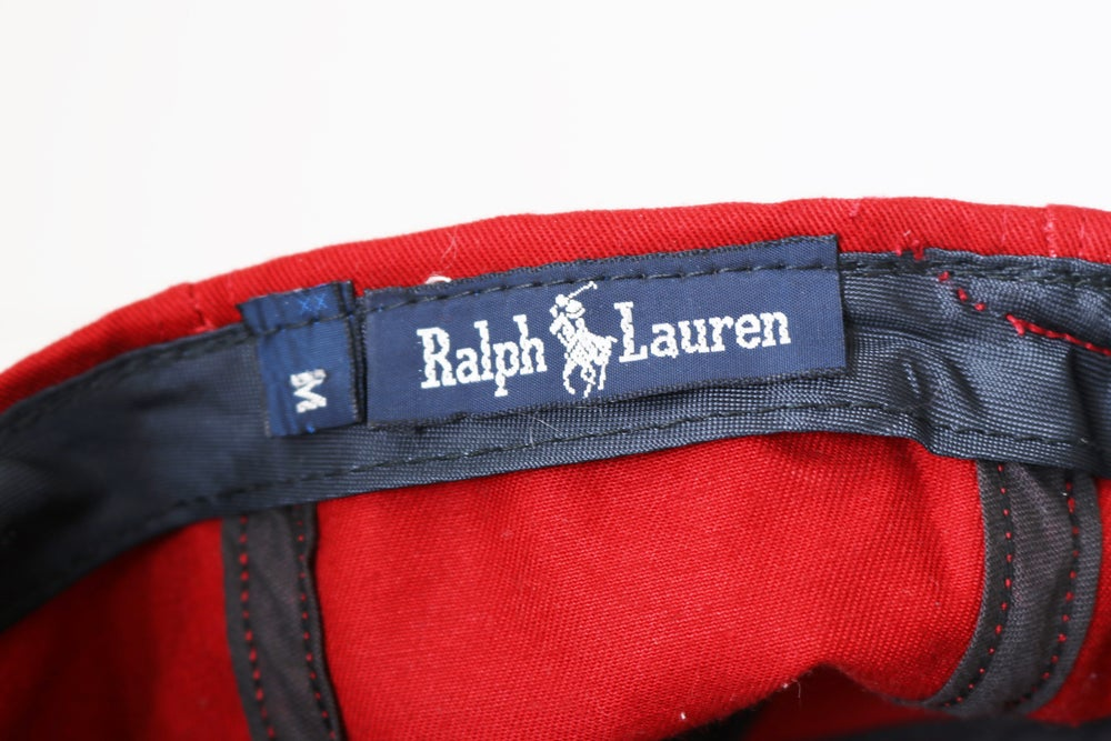 Image of Vintage 1990's Ralph Lauren Polo Anchor Crest Fitted Hat Sz.M