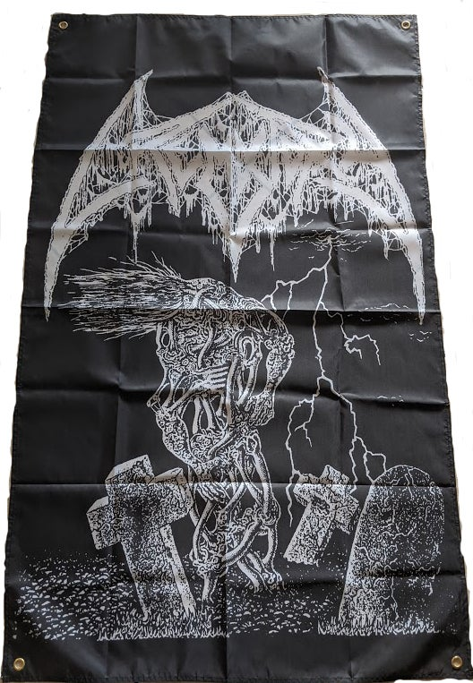 """Image of Crematory """"  Wrath From The Unknown """"  - Banner / Tapestry / Flag"""