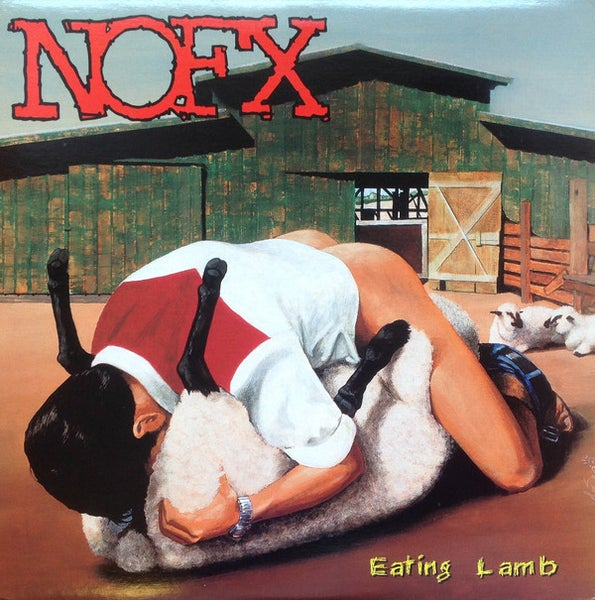 Image of NOFX - Eating Lamb LP (Heavy Petting Zoo) LP