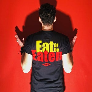 Image of EAT OR BE EATEN Mens T-Shirt