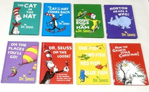 Image of Dr Seuss Book Wallets