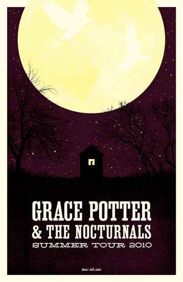 Image of Grace Potter & The Nocturnals - Summer Tour '10