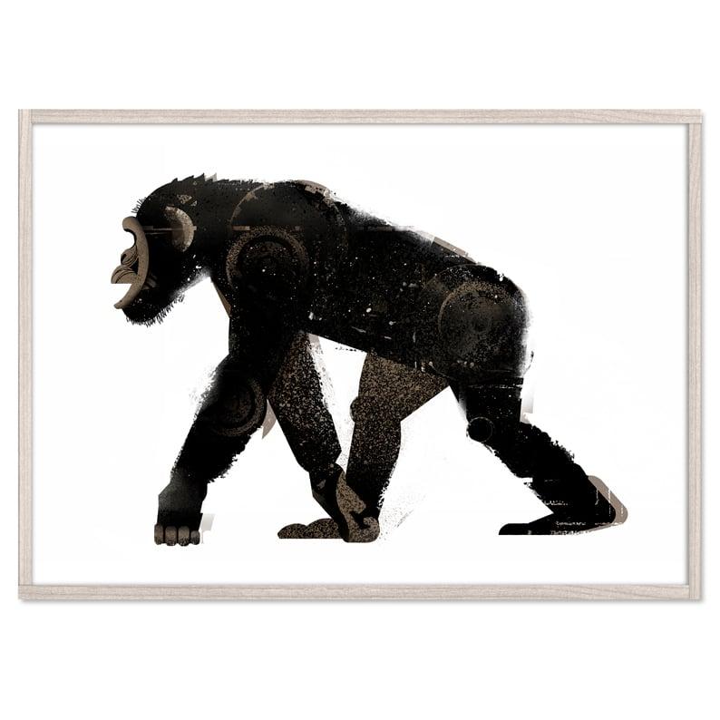 Image of Walking Chimp