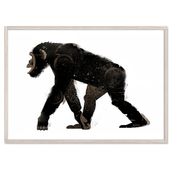 Image of Walking Chimp