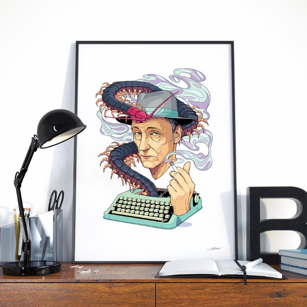 Image of William S. Burroughs | Giclée Art Print