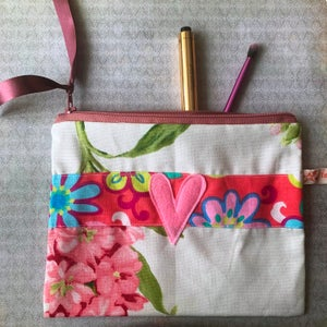 Image of Well behaved women floral with polka dot trim