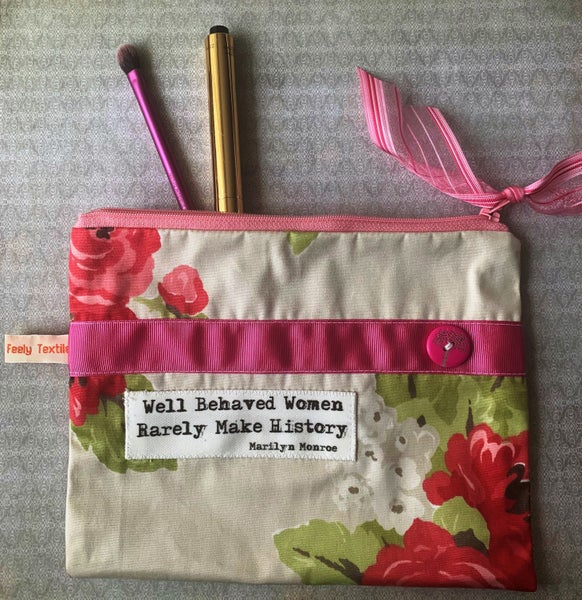 Image of Well Behaved Women Rarely Make History purse