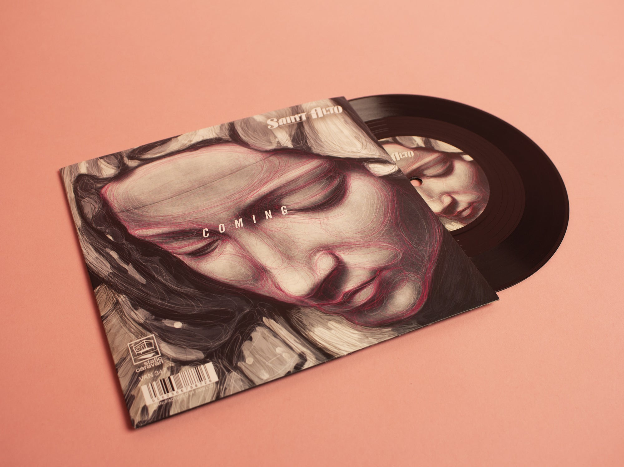"Image of COMING / FEEL 7""  VINYL"