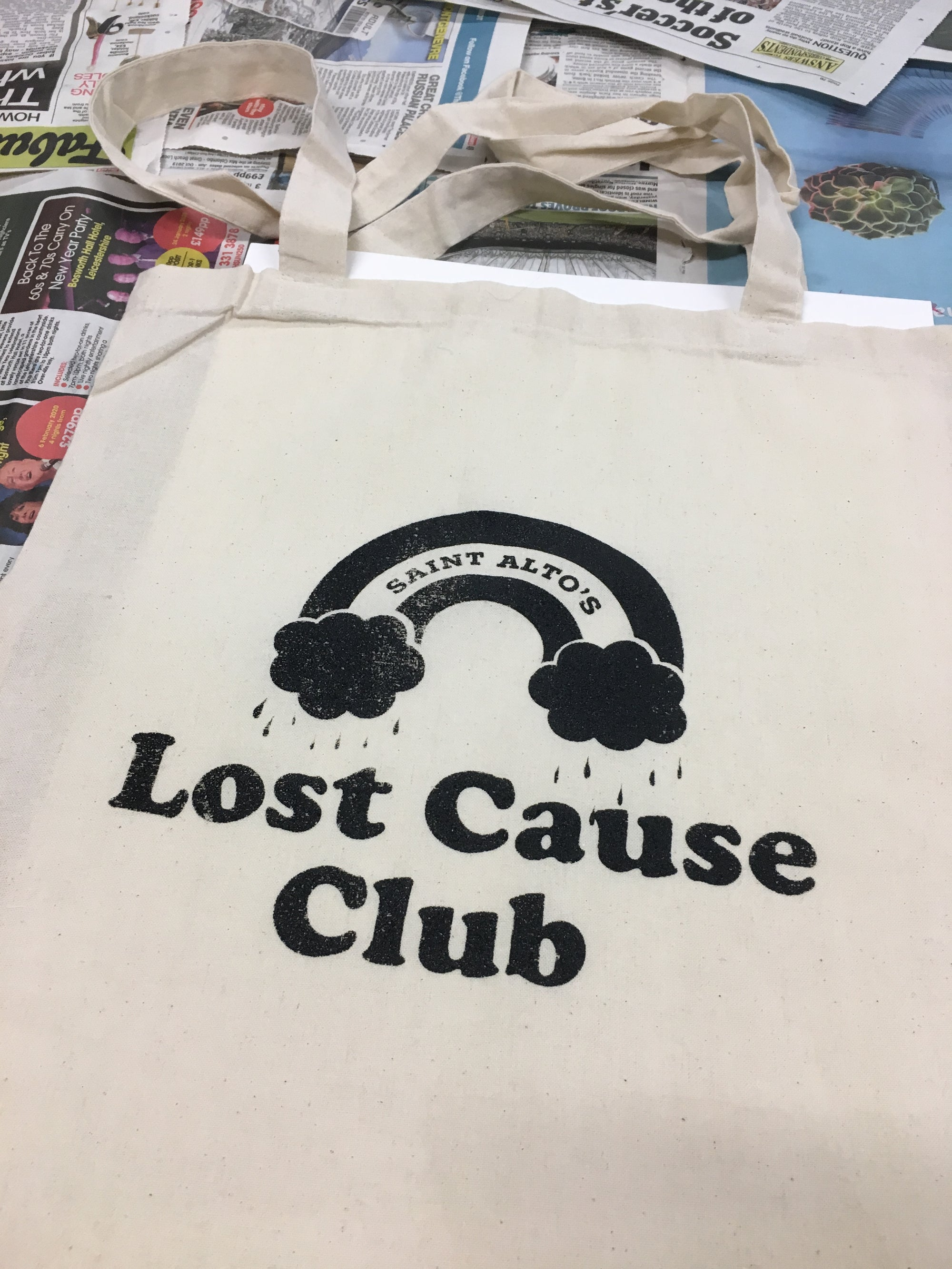 Image of LOST CAUSE CLUB TOTE