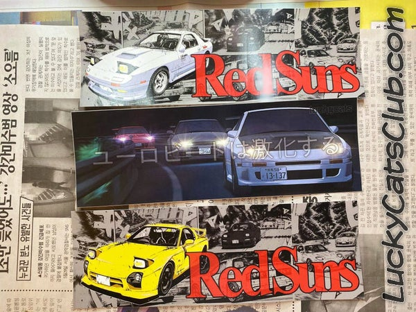 Image of Initial D / RedSuns - Slap