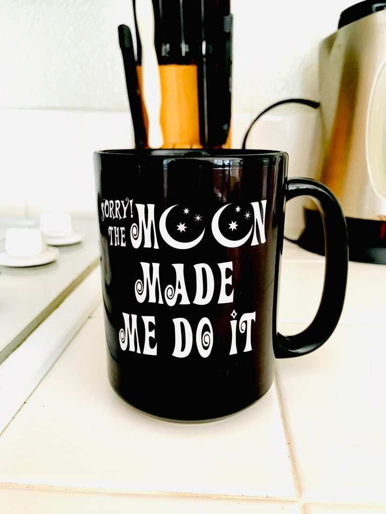 Image of The Moon Made Me Do It Mug + Top Bundle