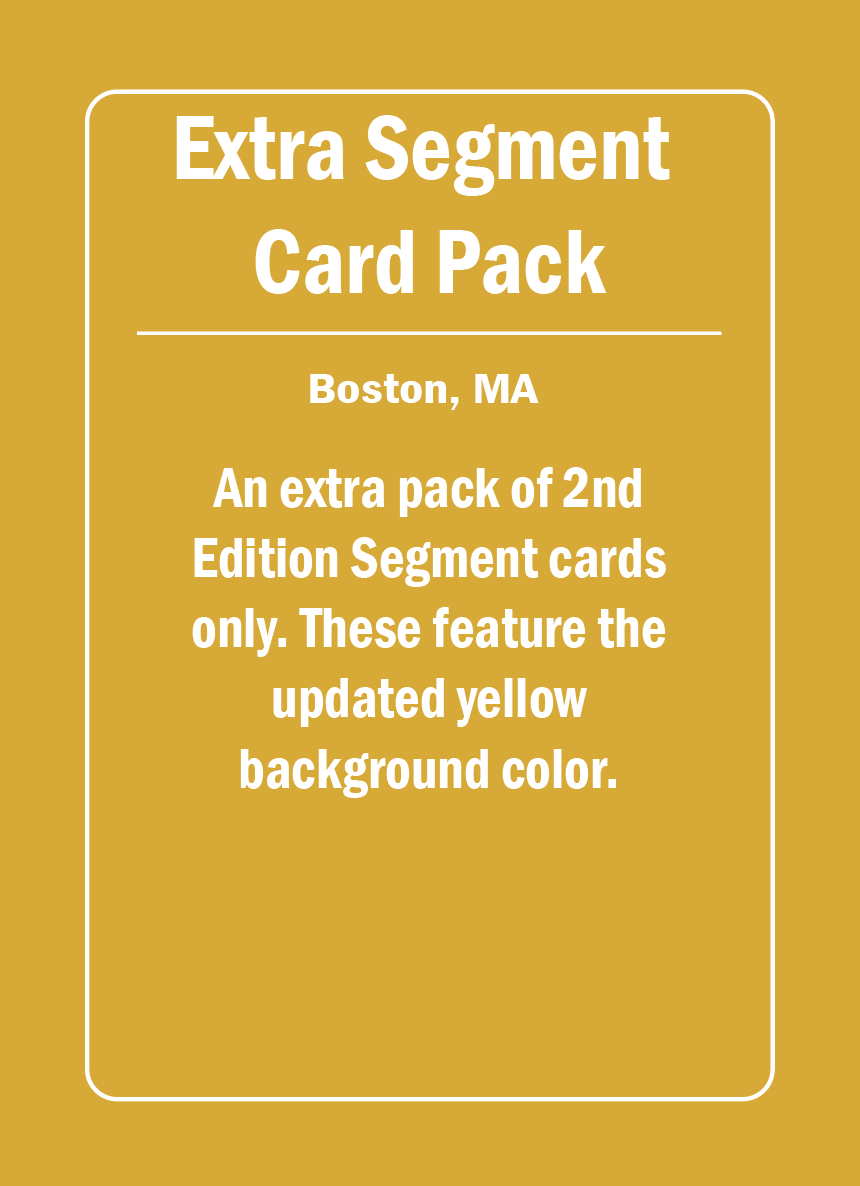 Image of [PRE-ORDER] 2nd Edition Segment Cards Only