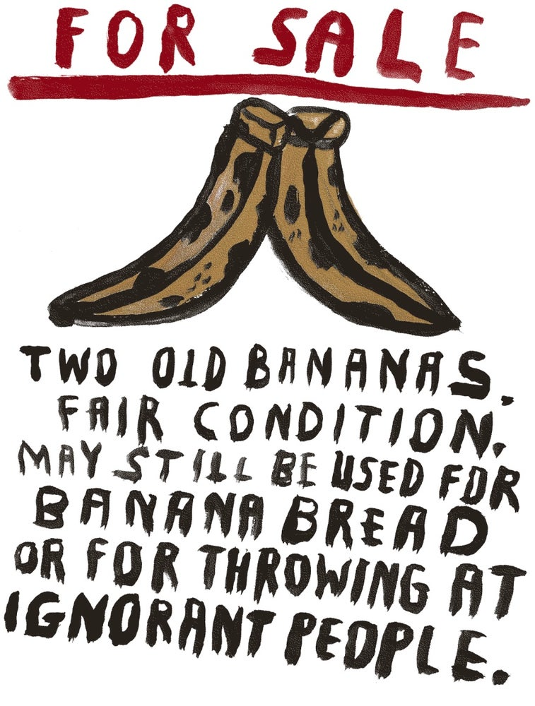 """Image of """"Two Old Bananas"""""""