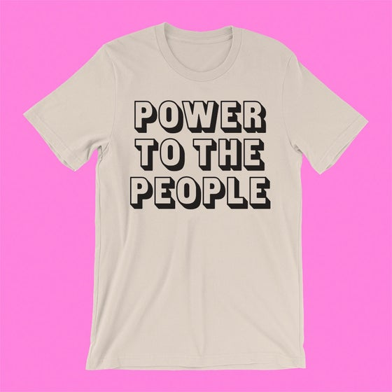 "Image of ""POWER TO THE PEOPLE"" T-SHIRT"