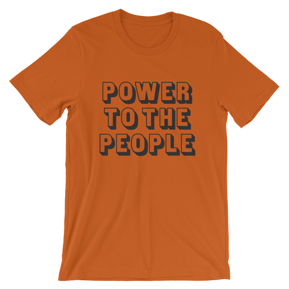 """Image of """"POWER TO THE PEOPLE"""" T-SHIRT"""