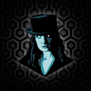 Image of ROSE THE HAT Enamel Pin