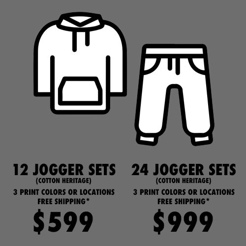 Image of JOGGER SET PACKAGE