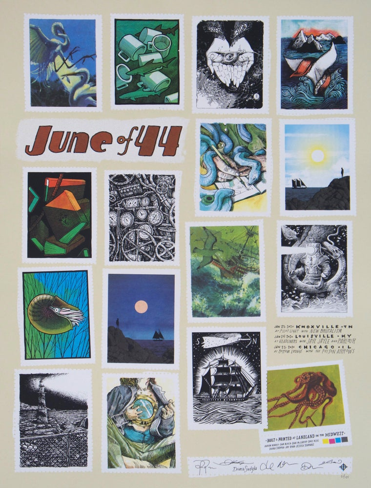 Image of June of 44 - Collaborative Print