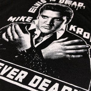 Elvis Is Dead (Ladies Black)