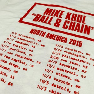 Ball & Chain Tour 2015
