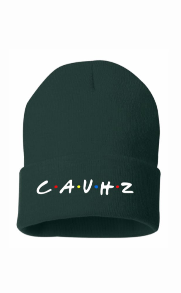 Image of Cauhz™️ Friends Themed Logo Stitched Beanie