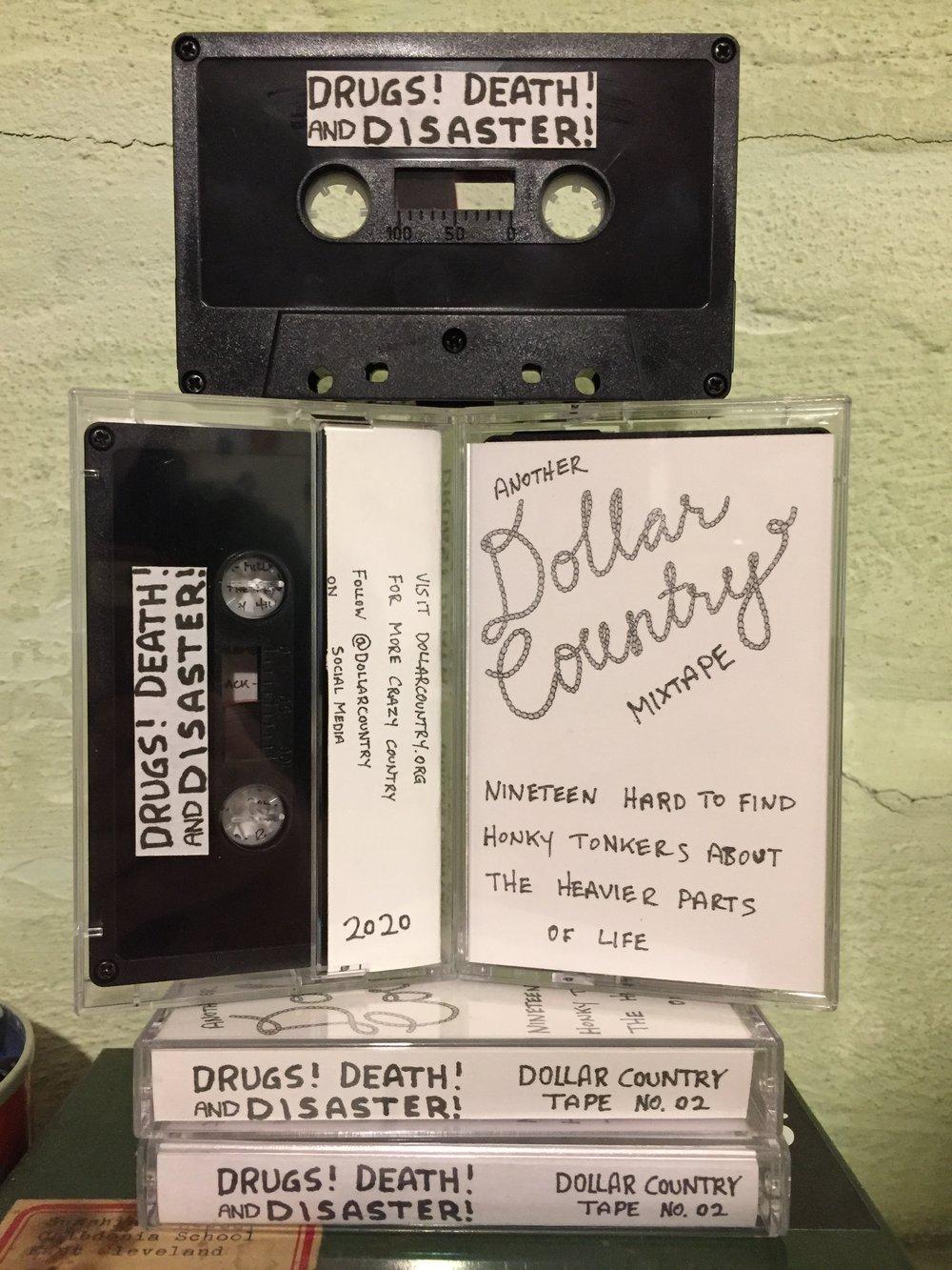 DC Mixtape #2: Death Drugs & Disaster on TAPE