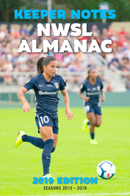 Image of 2019 Keeper Notes NWSL Almanac PDF ONLY