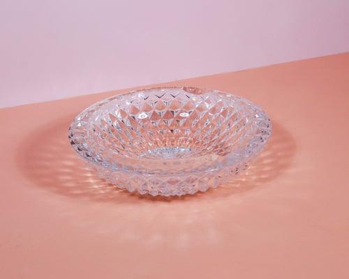 Image of Glass Geodesic Ashtray