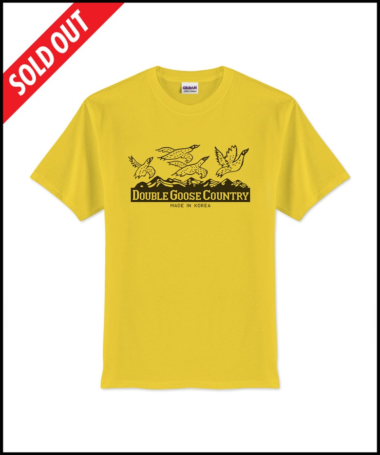 """Image of Double Goose Country """"Stitched Label"""" t-shirt"""