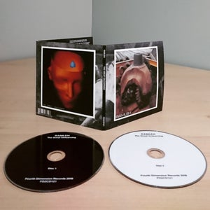 "Image of RAMLEH ""The Great Unlearning"" Double CD, Gatefold Sleeve"