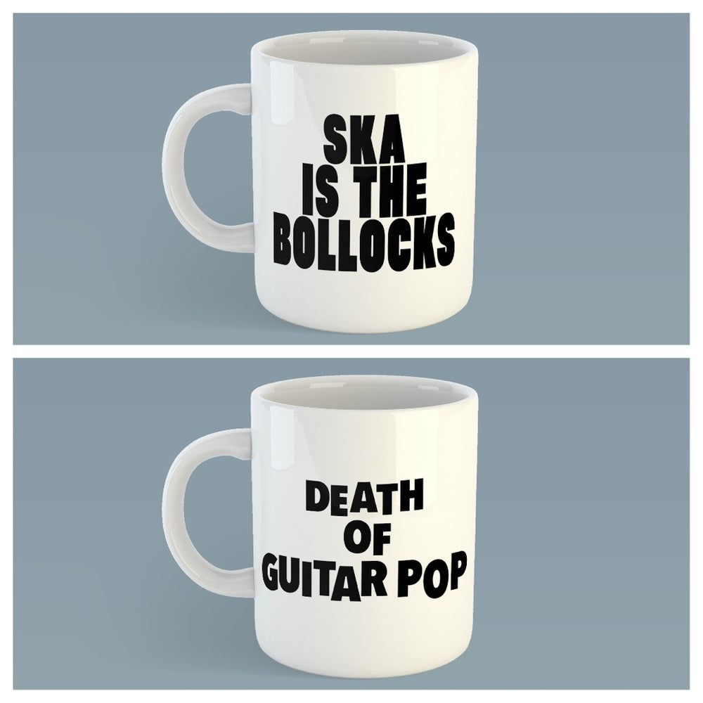 Image of 2 Mug Pack 'Ska Is The Bollocks' & 'Death of Guitar Pop'