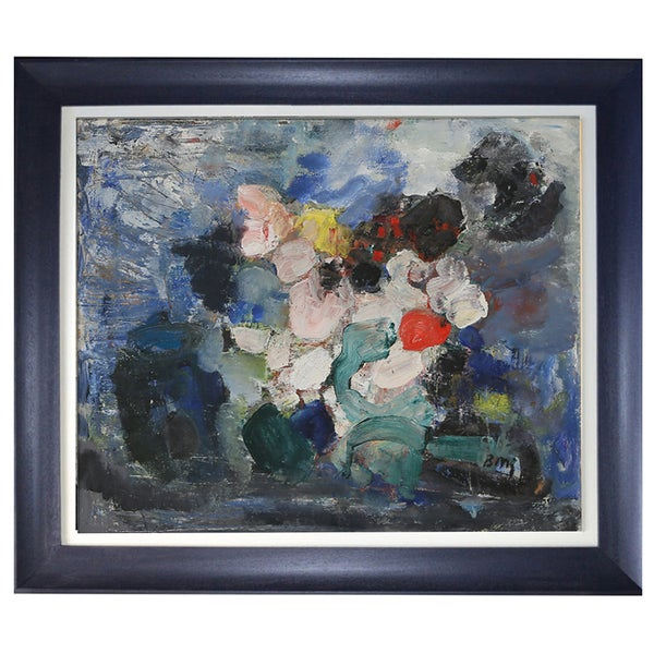 Image of Mid Century Abstract Painting,  BRITT MARI JACOBSSON (1918 -1992)