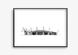 Image of Etihad Stadium. Manchester