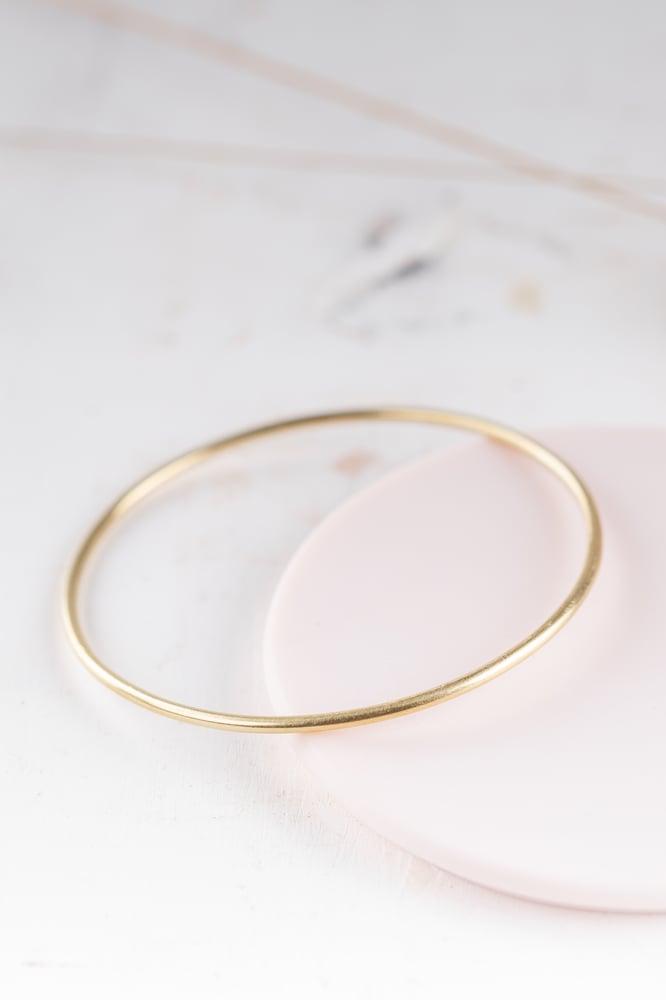 Image of Minimal Round Bangle
