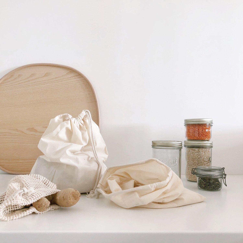 Image of Sacs en coton bio (4 tailles)